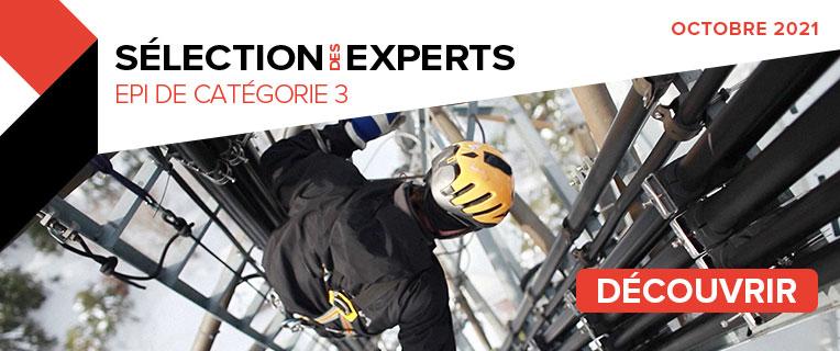 Sélection des Experts EPI de catégorie 3