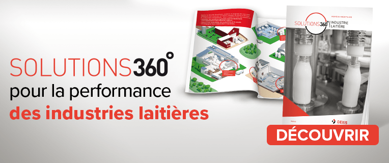 Solutions 360° pour la performance des industries laitières