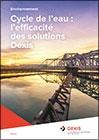 Cycle de l'eau - L'efficacité des solutions DEXIS