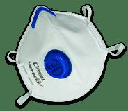 Equipement individuel de protection du plombier - masque pliable Opsial
