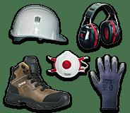 EPI - Equipements de protection individuelle menuisiers et charpentiers