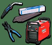 Outillage professionnel de soudage électrique pour serrurerie-métallerie