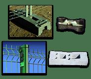 Clôtures de chantier, grilles de chantier, tréfilerie, barrières et portails de chantier pour les professionnels du bâtiment