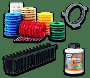 Produits plastiques pour entreprises de bâtiment et de maçonnerie - Canalisations et évacuations en PVC