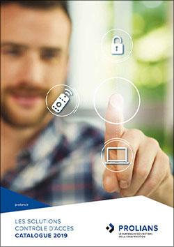 Les solutions contrôle d'accès - Catalogue 2019