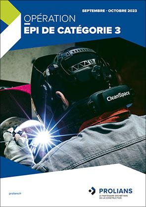 Opération EPI de catégorie 3 - Octobre 2021