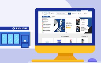 Avantages sur vos achats en magasin et sur prolians.fr
